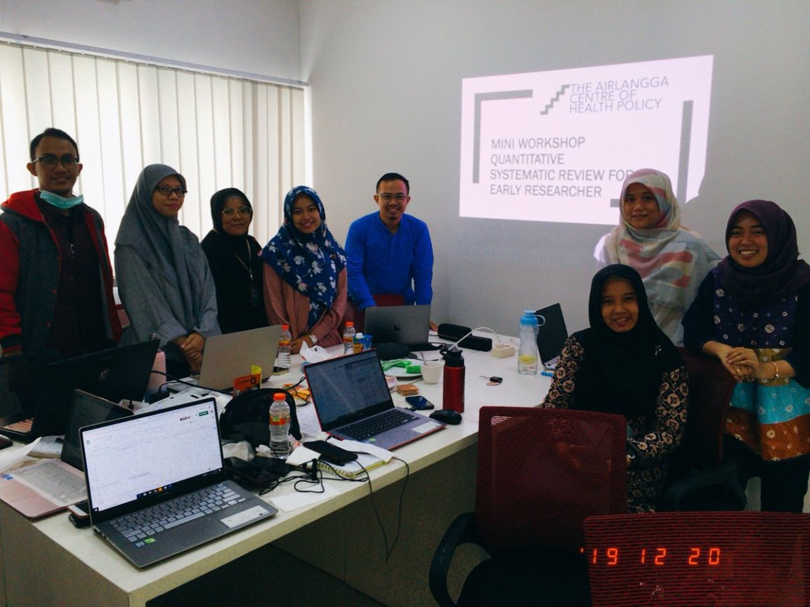 Mini-Workshop Quantitative Systematic Review for EarlyResearcher